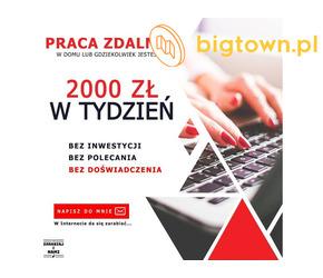 Tester produktów online, 2500 zł netto + premie, Praca dla Każdego